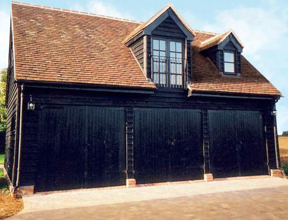 The Coach House Range Of Cart Lodges Oak And Softwood