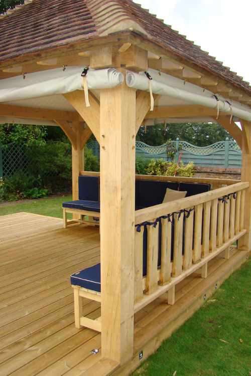 Oak Gazebos Amp Pavilions Cellars Trap Doors Board Walks